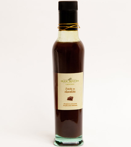 Aceite de chocolate